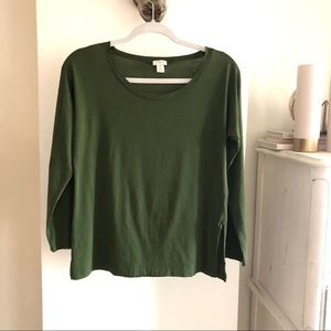 3for$45 J Crew Long Sleeves Loose Top. Size XS